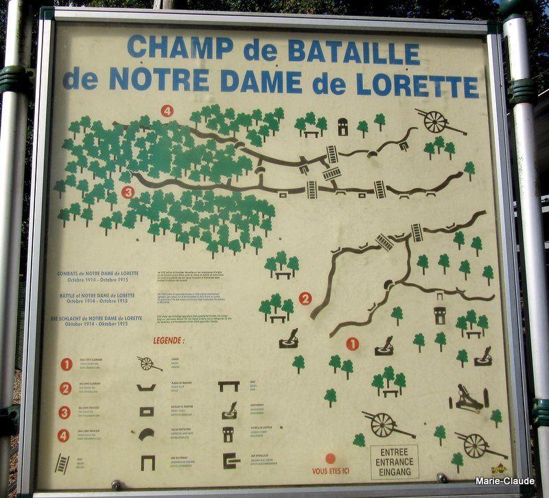 En hommage à nos poilus, Notre Dame de Lorette,