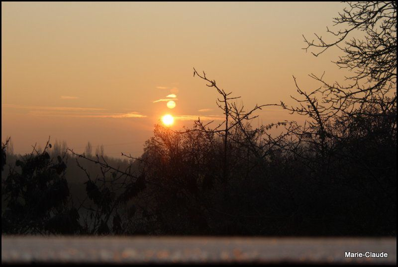 Un petit matin glacé,