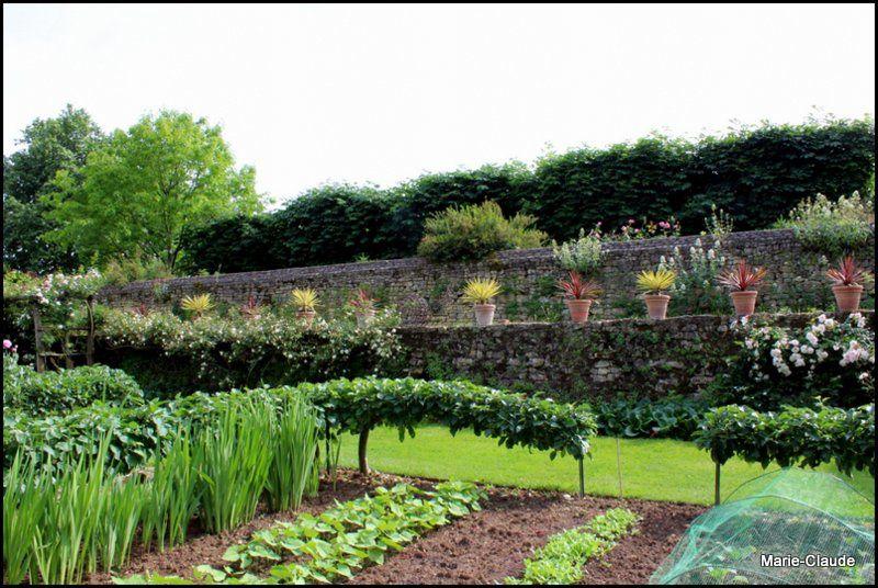 Le jardin du Logis de Chaligny,