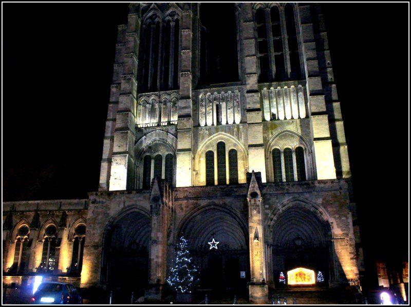 La magnifique cathédrale gothique du 12 ème siècle