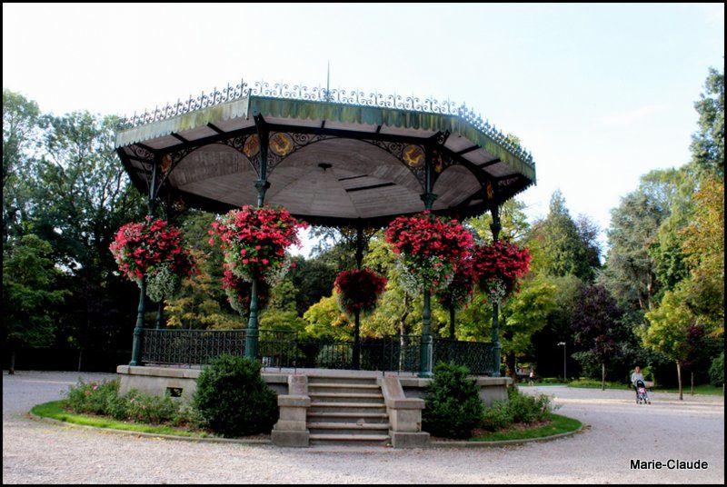 Balade dans les Flandres : Le jardin public de St Omer