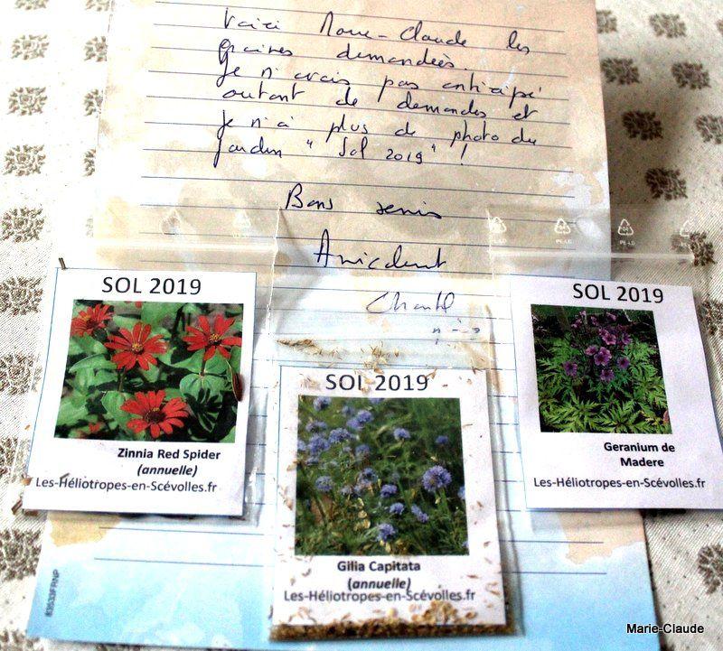 C'est le temps des courriers promesses de fleurs !