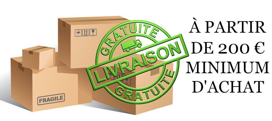 LIVRAISON GRATUITE*