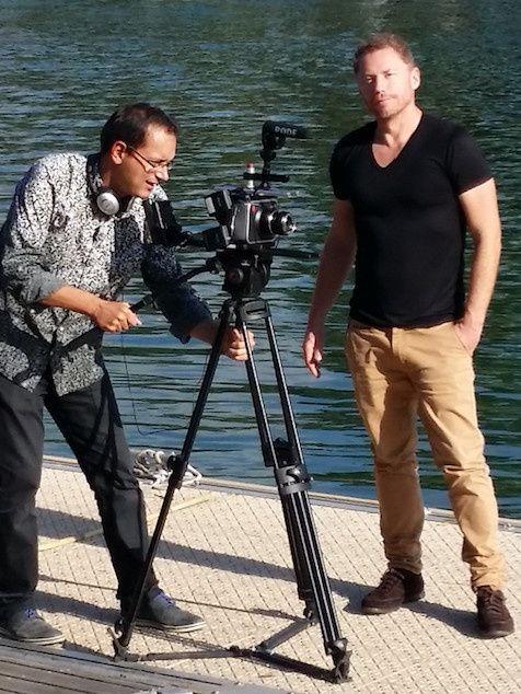 Handisport TV en tournage en Corse