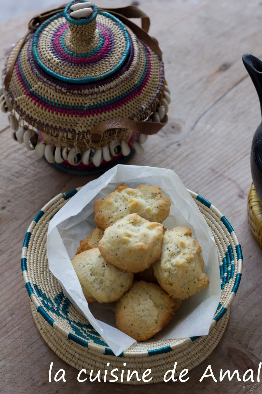 cookies aux graines de pavot et orange