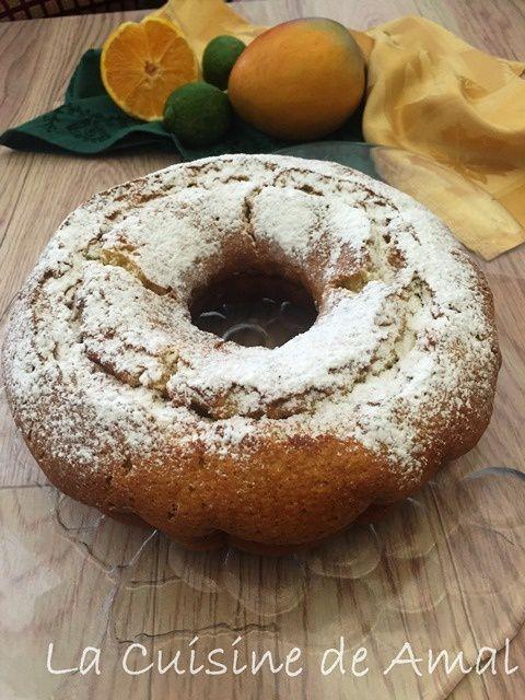 Gâteau aux Mangues
