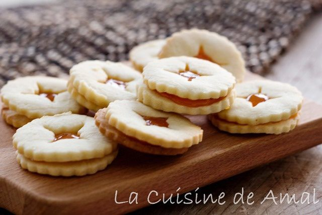 SABLES A LA CONFITURE DE STEPHANE GLACIER