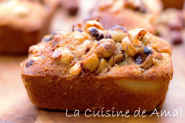 FINANCIER AUX NOISETTES PRALINEES