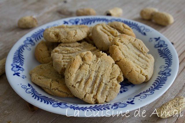 COOKIES AU BEURRE DE CACAHUETES AVEC 3 INGREDIENTS