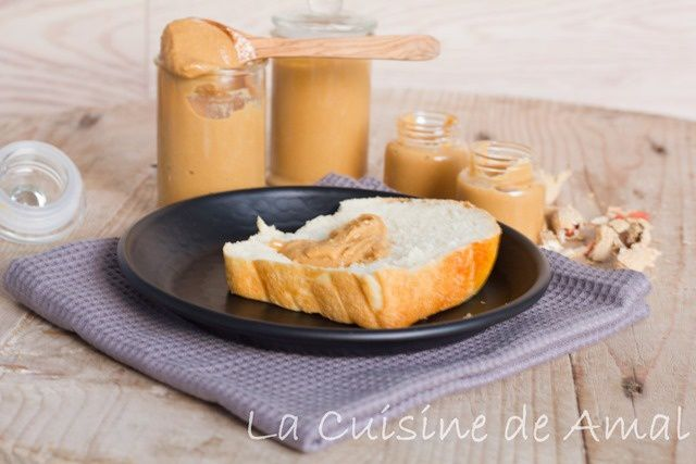 BEURRE DE CACAHUETE, AVEC THERMOMIX  PEANUT BUTTER HOME MADE