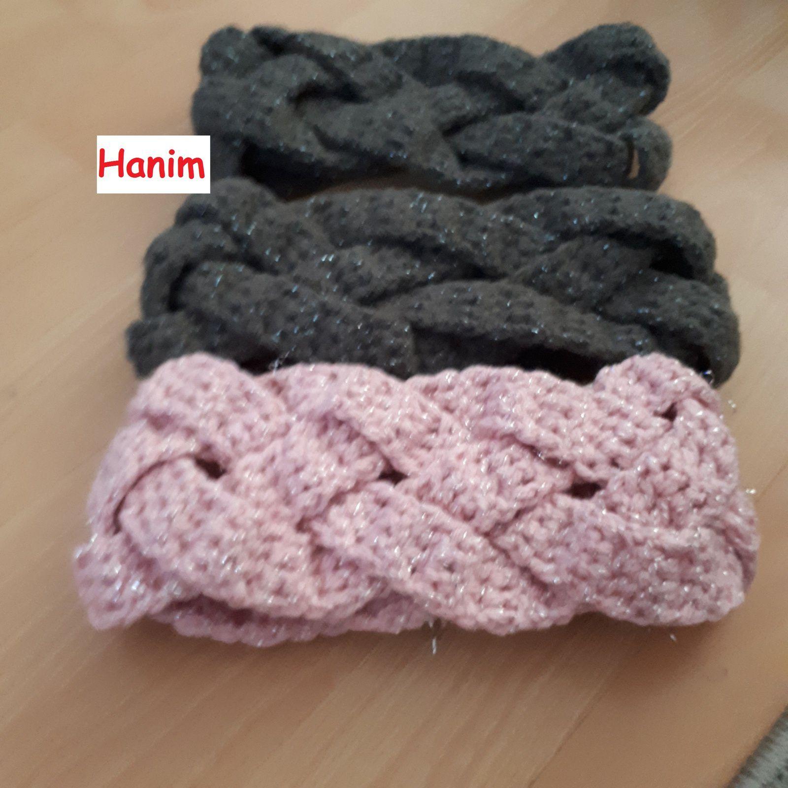 Headbands /Bandeau pour cheveux au crochet