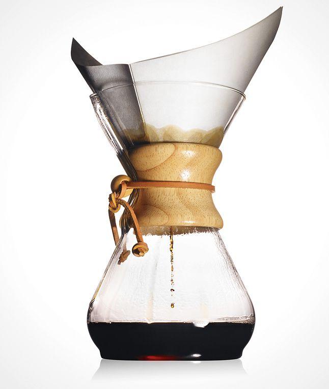"""…zum CHEMEX Kaffeebereiter – Design-Kaffee mit MoMA-Qualität"""""""