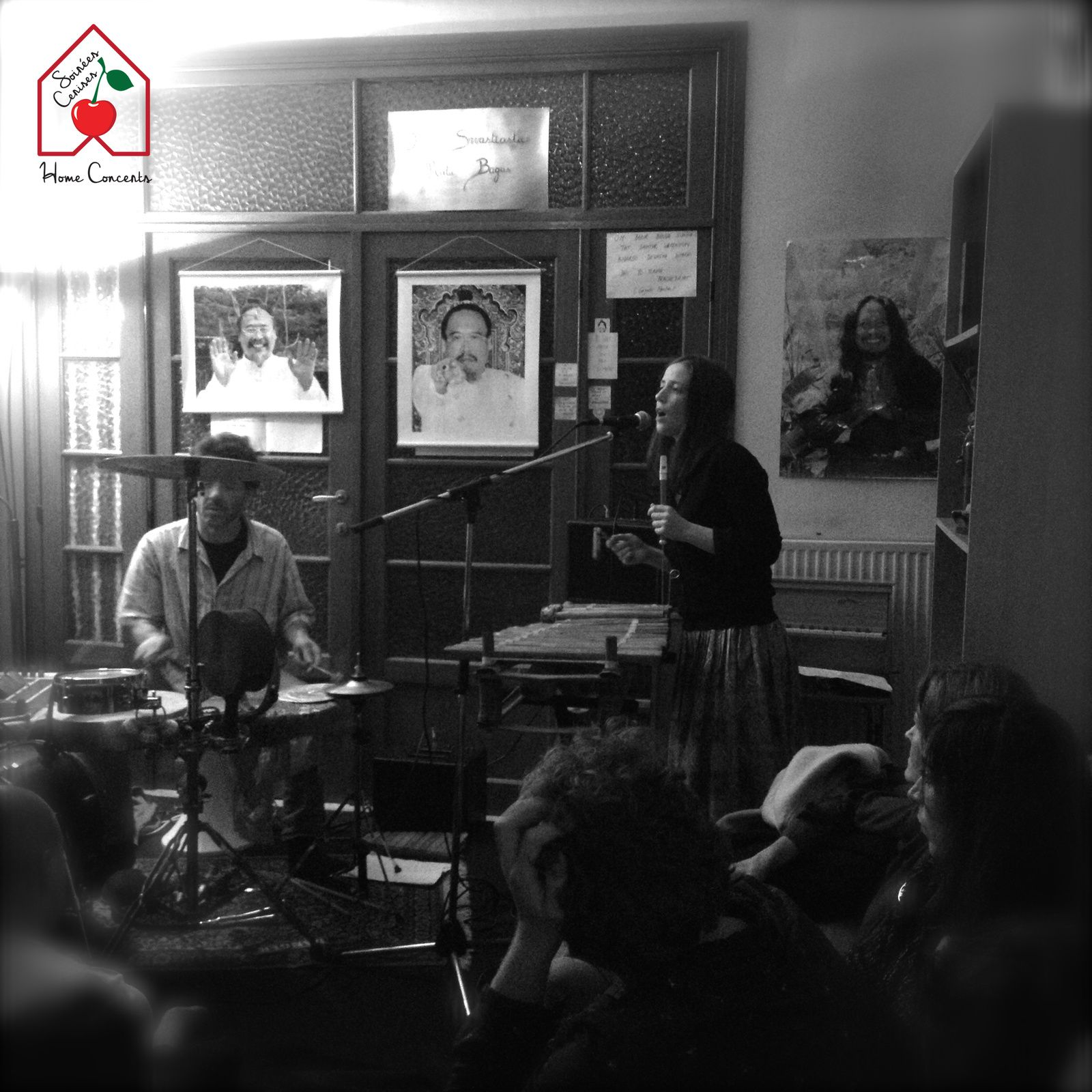 ► Leonore Boulanger (F) @ Home concert (Forest / Union ) - 20/11/2016