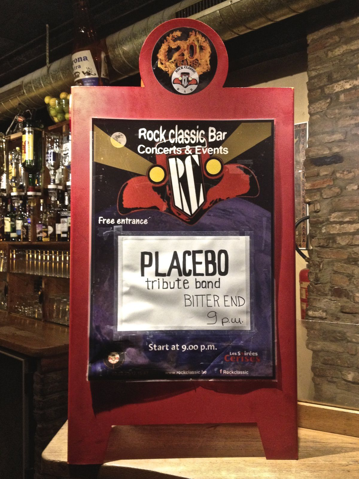 ▶ Bitter end (Placebo tribute band) @ Rock Classic - 17/12/2016