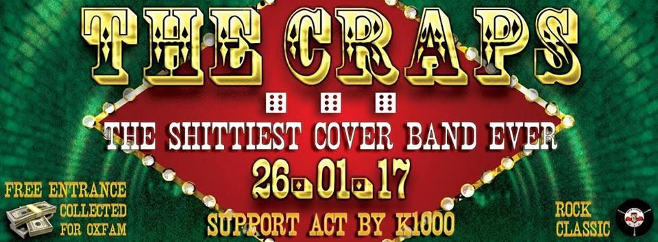 ▶ The Craps (Covers band) + K1000 @ Rock Classic - 26/01/2017 - 20h30 - Entrée gratuite !