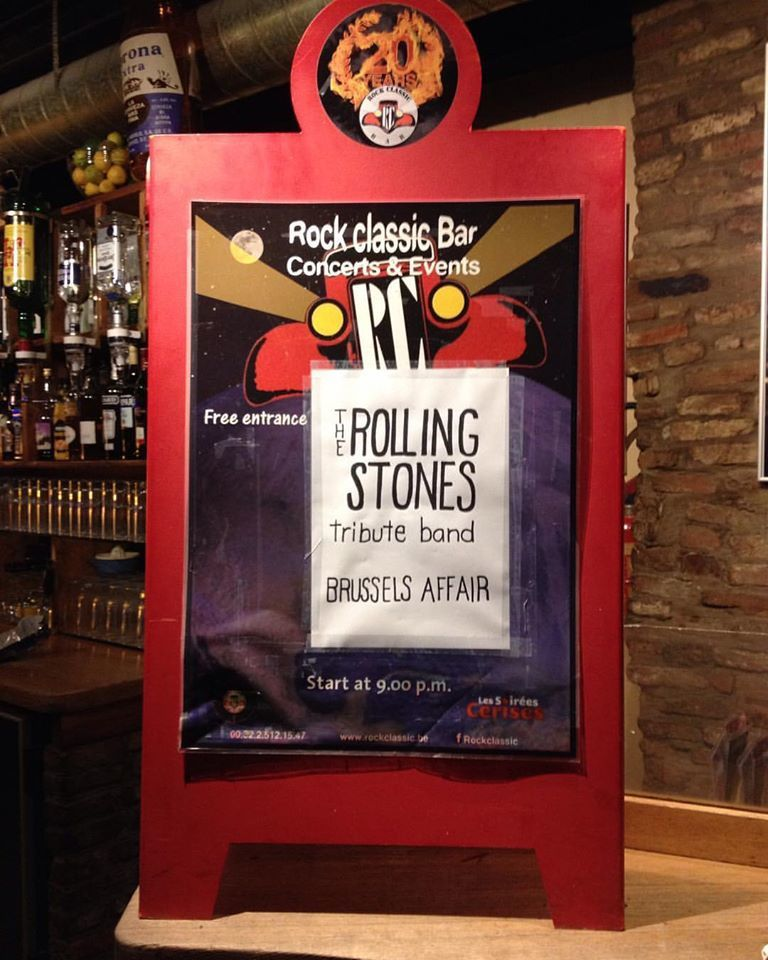 ▶ Brussels affair ( ROLLING STONES Tribute band) @ Rock Classic - 20/01/2017