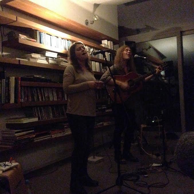 ▶ Concert en appartement avec Russell Joslin (UK) & Sarah McCaig (AUS) @ Schaerbeek (Bienfaiteurs) - 19/03/2017