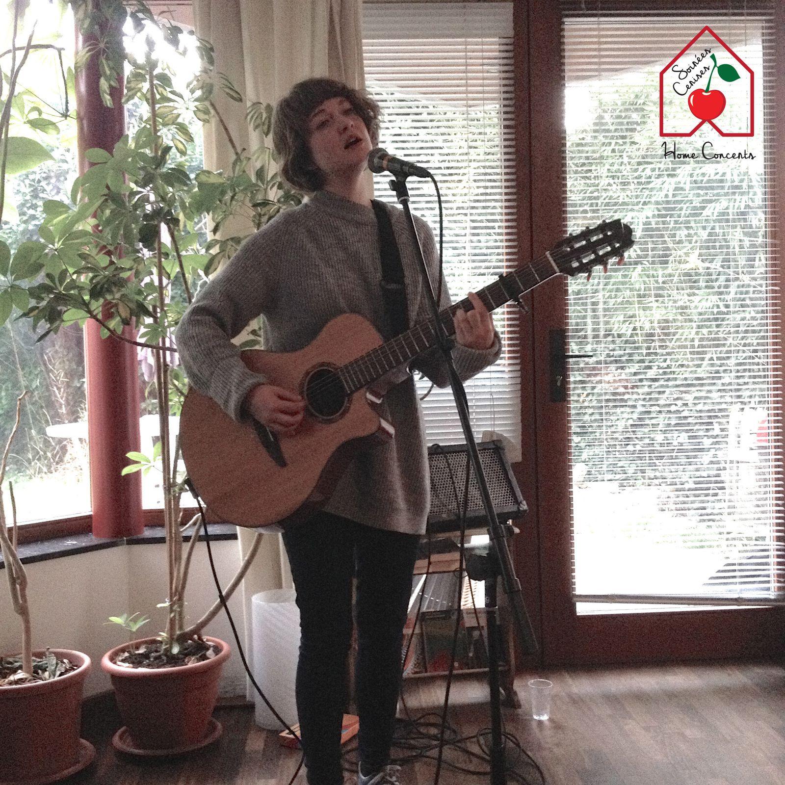 ▶ Brooke Sharkey (UK) @ Home concert (Drogenbos Château) - 01/05/2017