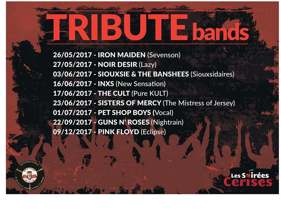 ▶ Prochains tribute bands au ROCK CLASSIC