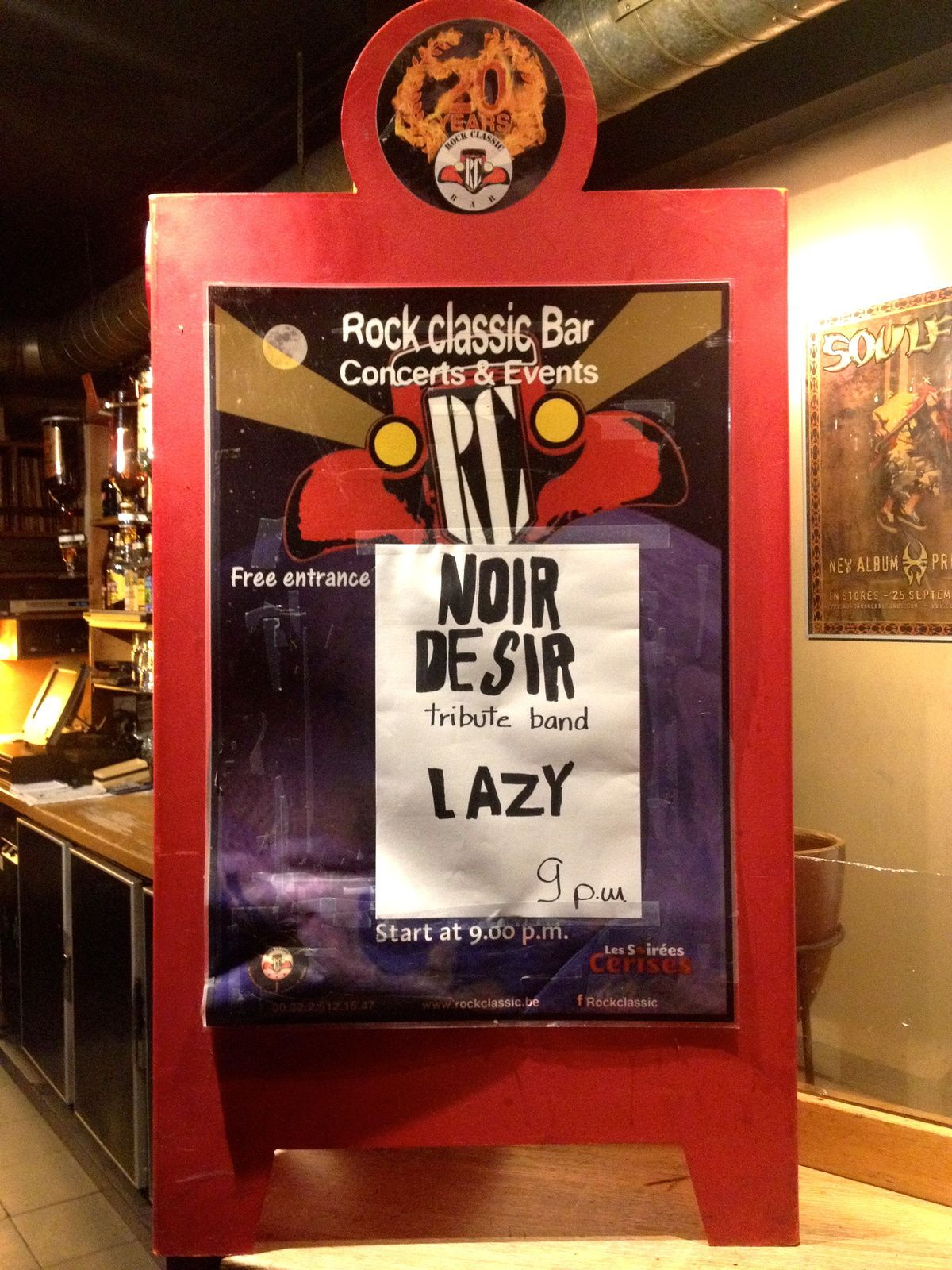 ▶ LAZY (NOIR DESIR tribute band) @ Rock Classic - 27/05/2017
