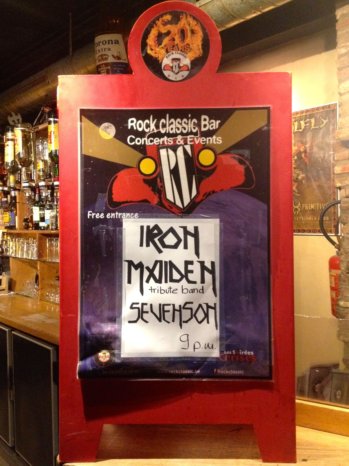 ▶ Sevenson (IRON MAIDEN tribute band) @ Rock Classic - 26/05/2017