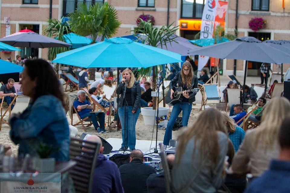 ✖ Te Beiyo (F) + The Lonley free @ Louvain-La-Plage (Grand Place de Louvain-La-Neuve) - 15/07/2017