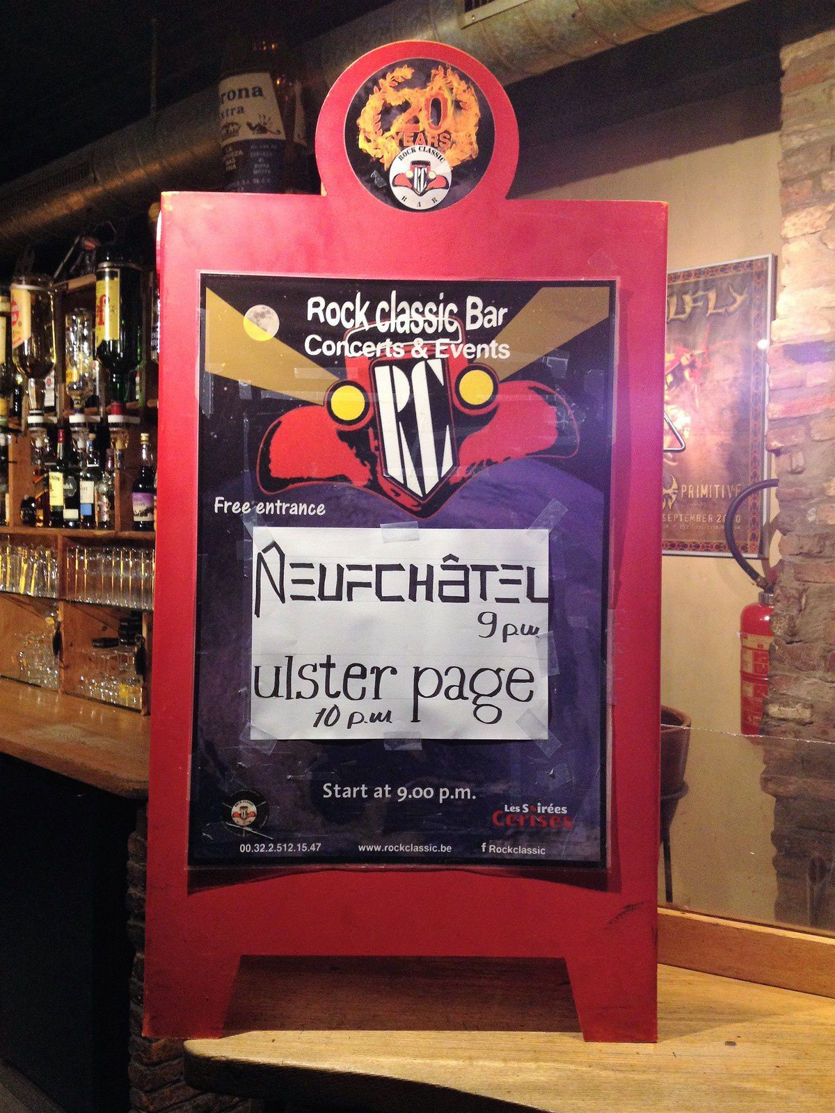 ▶ Photos / Videos - Ulster Page (F) + Neufchatel @ Rock Classic - 11/11/2017