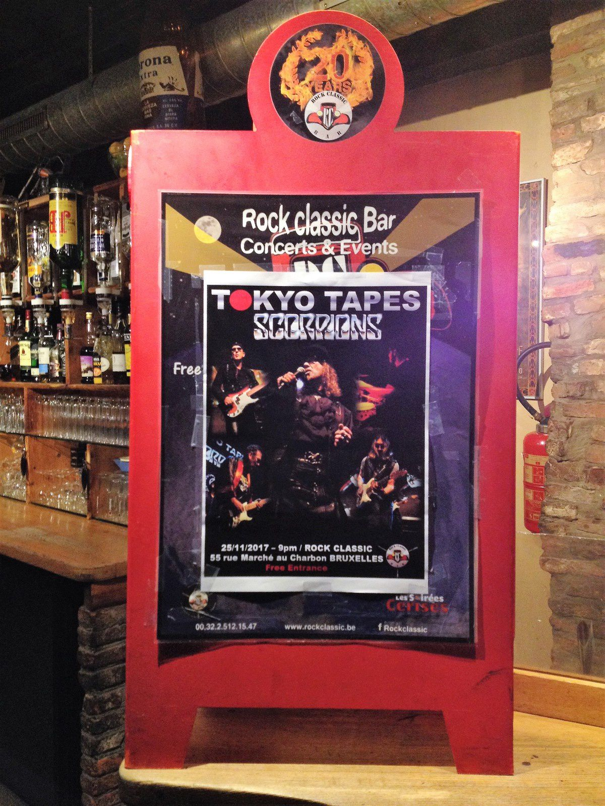 ▶ Photos / Videos - Tokyo Tapes (SCORPIONS tribute band) @ Rock Classic - 24/11/2017