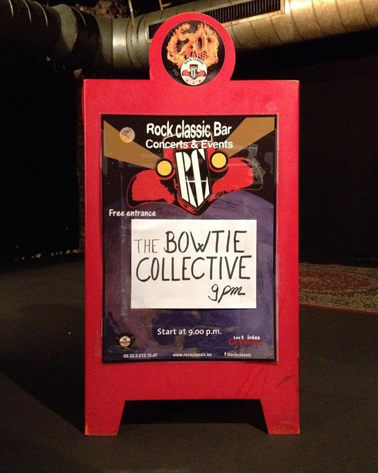 ▶ Photo / Videos - The BoWtie collective @ Rock Classic - 14/12/2017