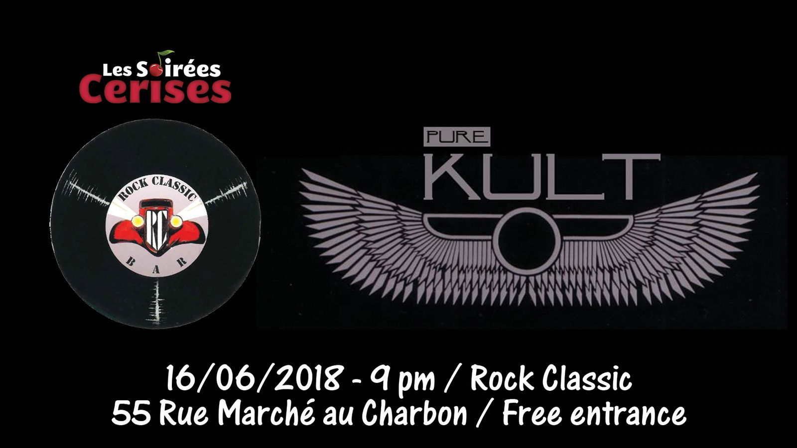 ▶ Pure Kult (THE CULT tribute band) @ Rock Classic - 16/06/2018 - 21h00 - Entrée gratuite