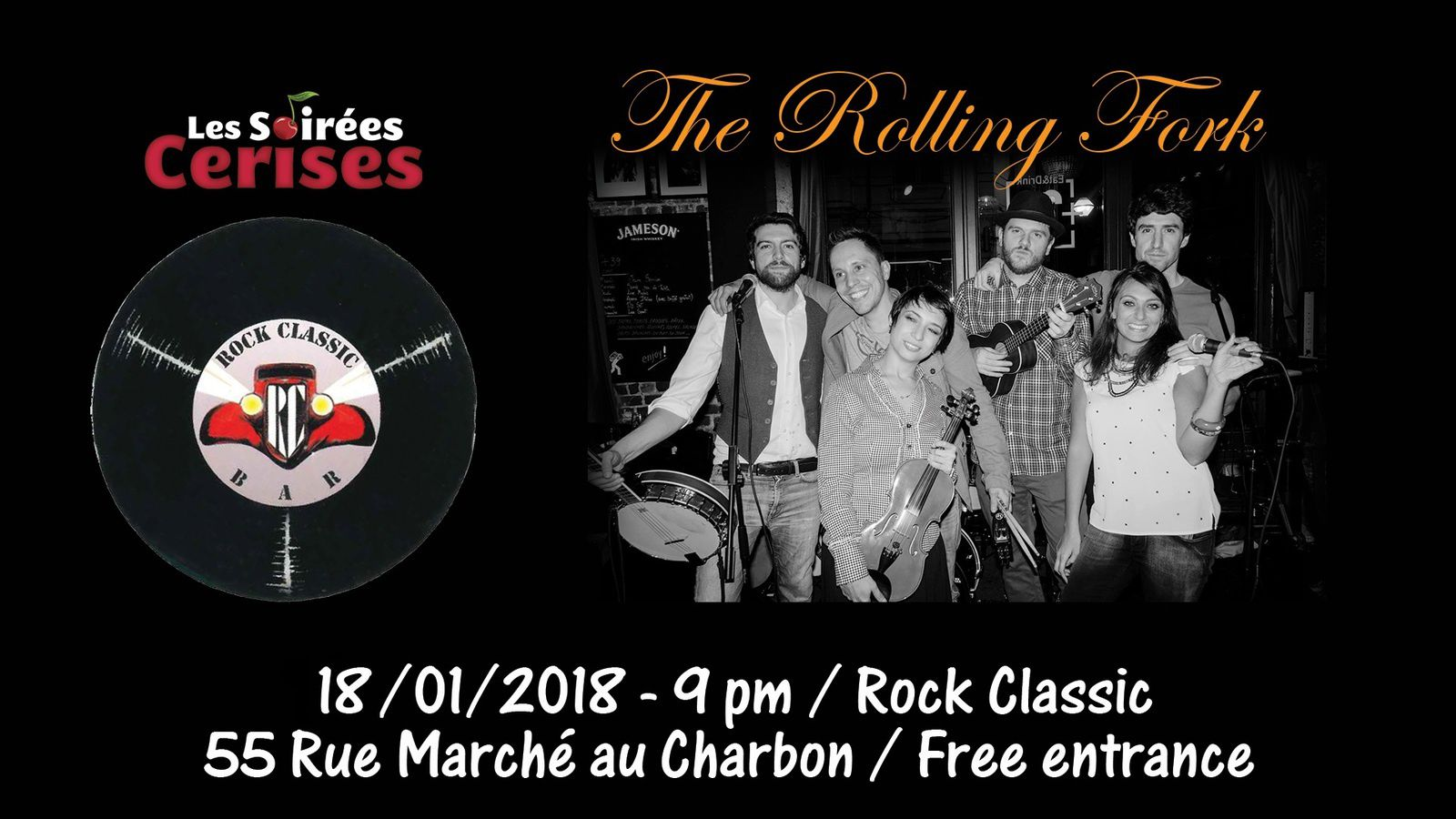 ▶ Photo / Videos - The Rolling Fork @ Rock Classic - 25/01/2018