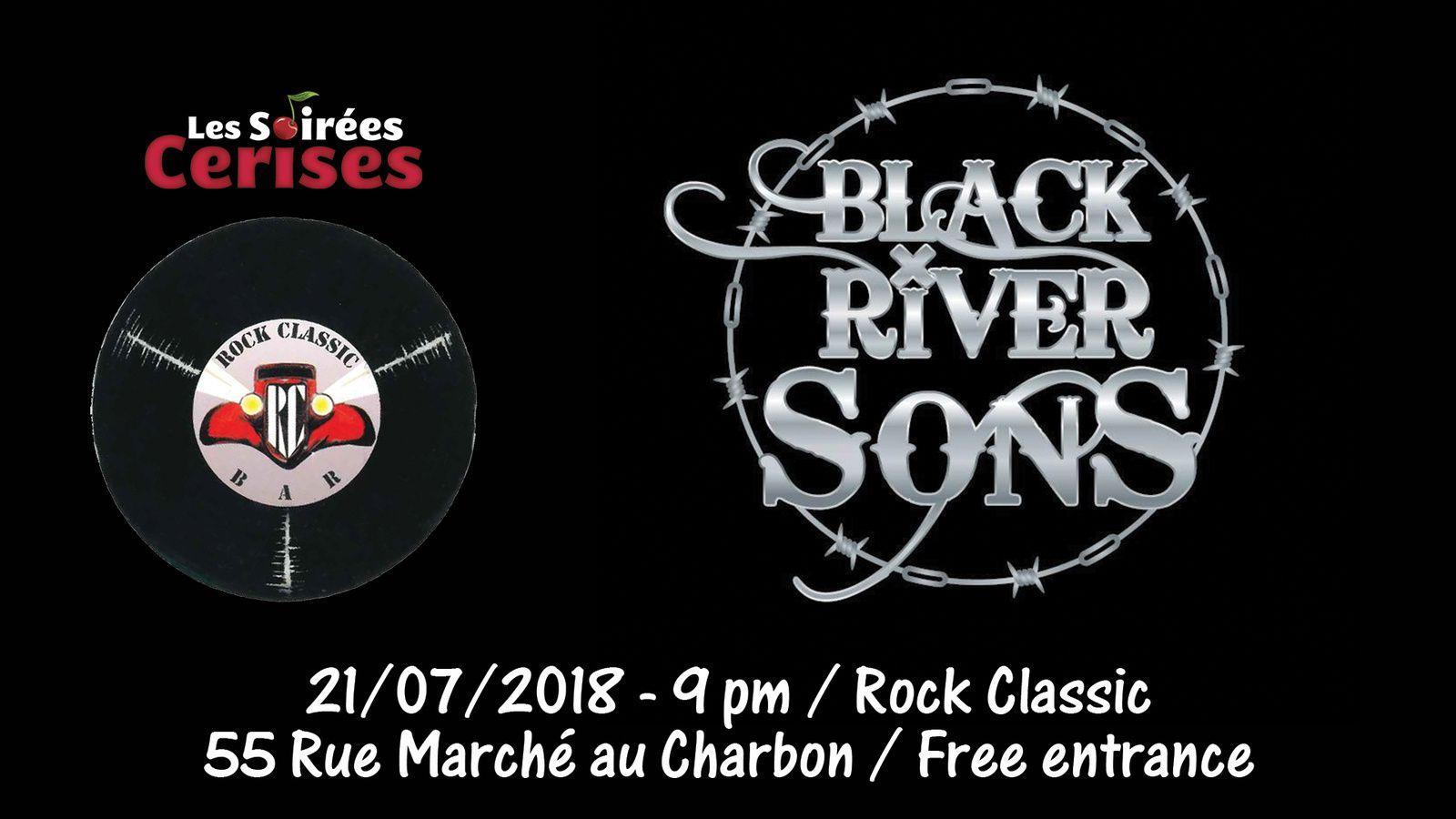 ▶ Black River Sons (F) au Rock Classic - 21/07/2018 - 21h00 - Entrée gratuite !