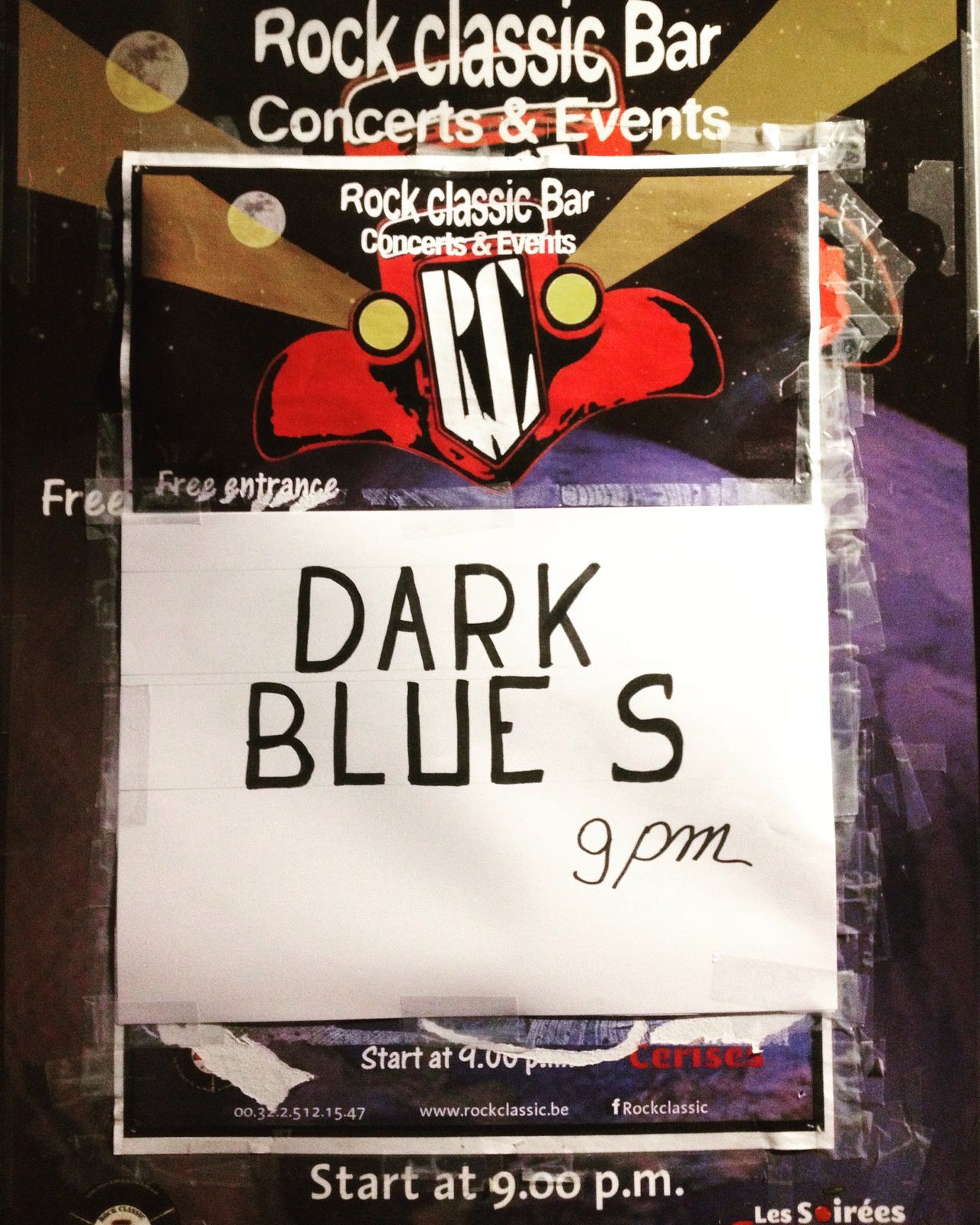 ▶ Photos / Videos - Dark Blue S @ Rock Classic - 20/04/2018