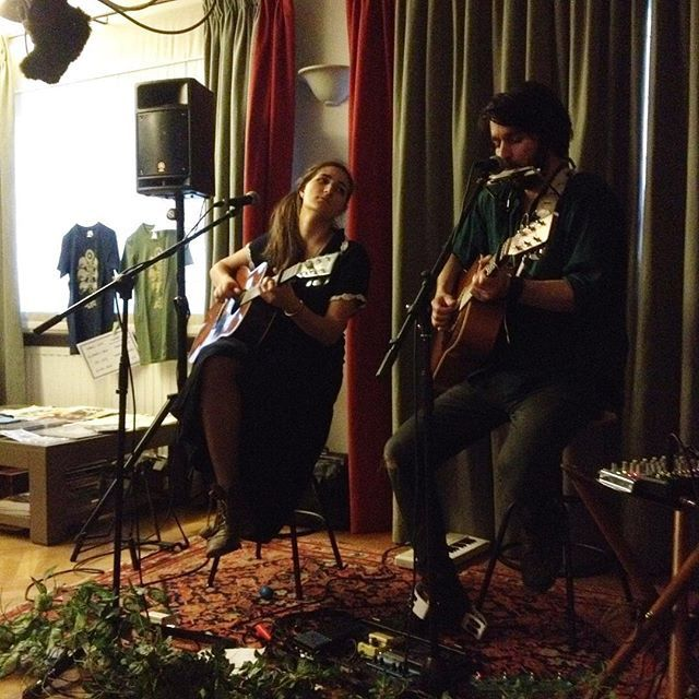 ▶ Photo - Concert en appartement  David Celia (Canada) + Marla (D/Spain) @ Woluwé - 19/04/2018