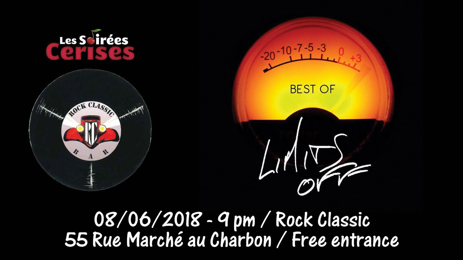 Limits off (F) @ Rock Classic 08/06/2018 - 21h00 - Entrée gratuite / Free entrance !