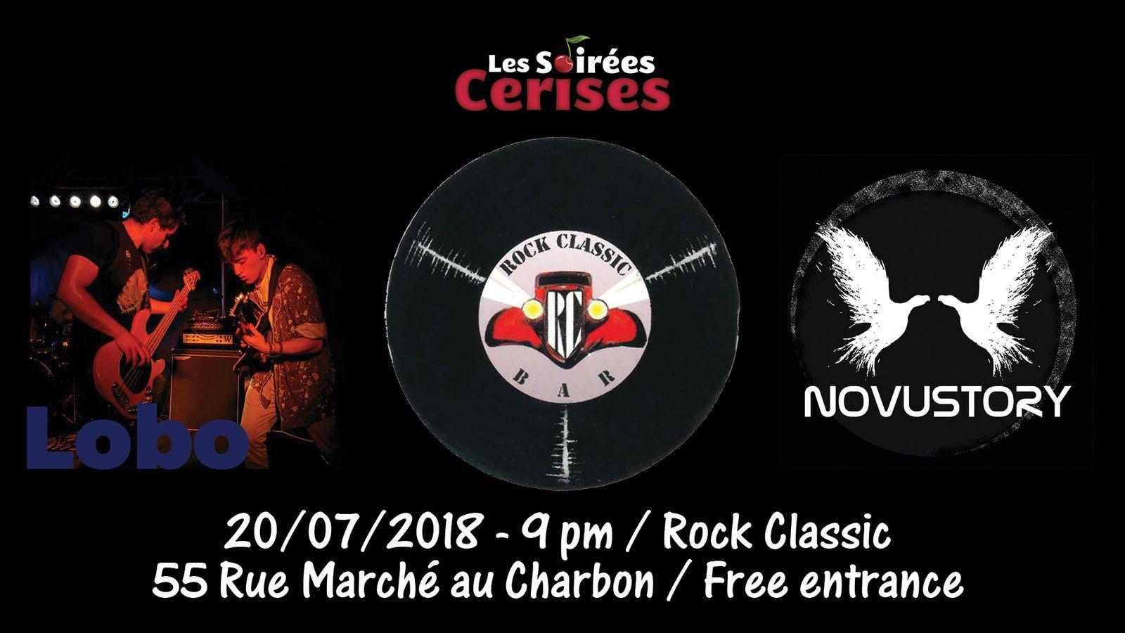 ▶ Lobo + Novustory (UK) @ Rock Classic - 20/07/2018 - 21h00 - Entrée gratuite / Free entrance