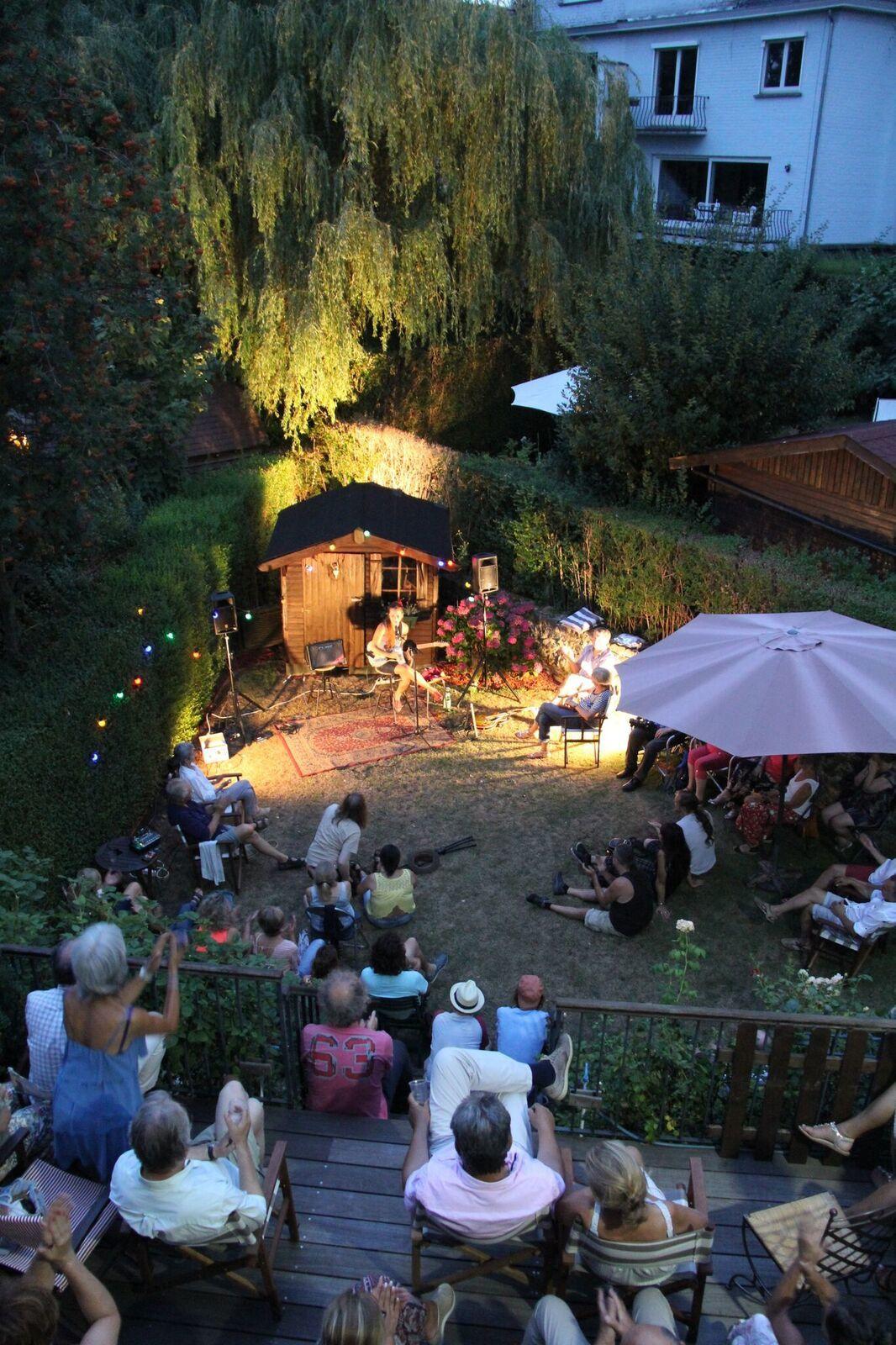 ▶ Photos - GHALIA @ Home concert (Concert au jardin/Woluwé-Saint-Pierre) - 27/07/2018