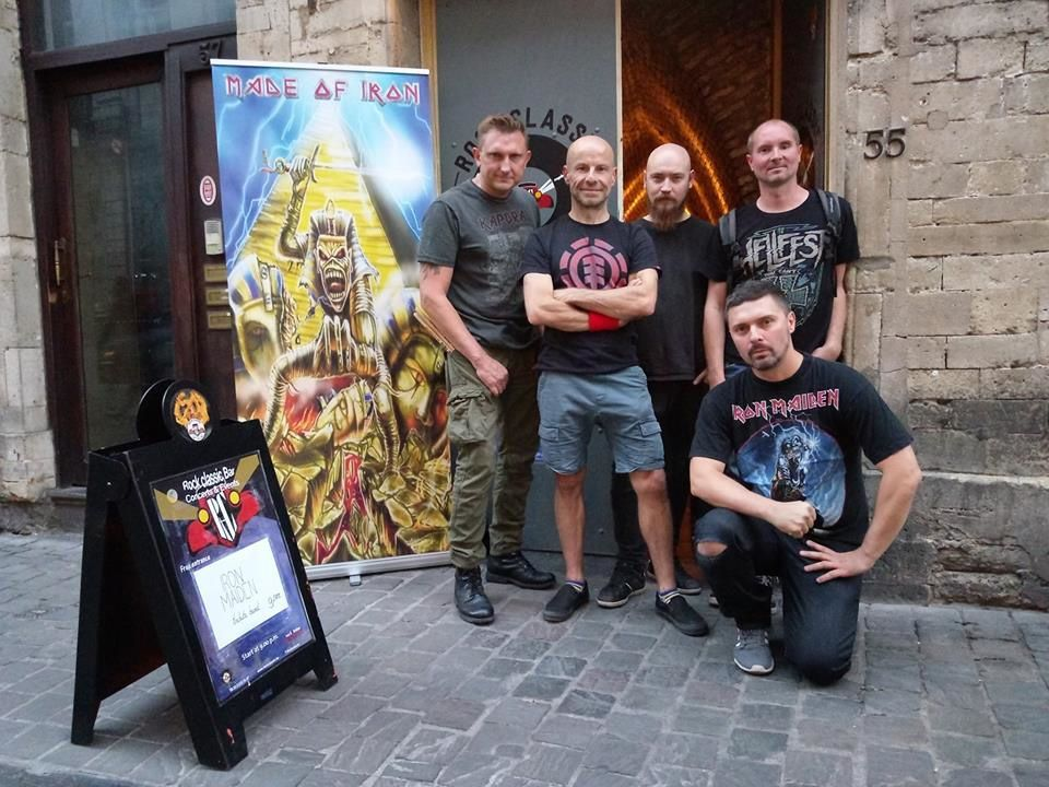 ▶ Photos / Videos - Made of Iron (IRON MAIDEN tribute band) @ Rock Classic - 08/09/2018