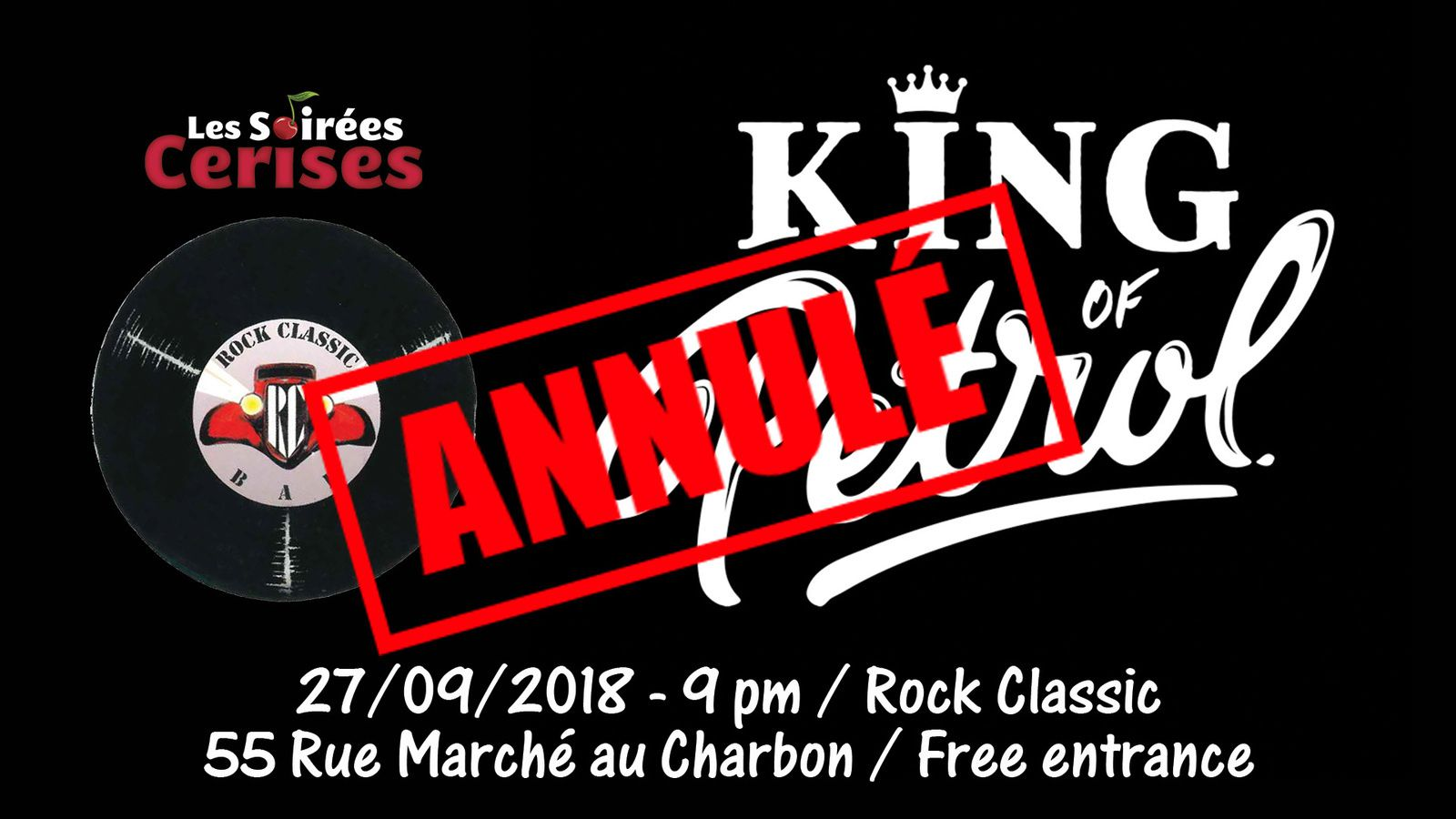 ▶ King of Petrol @ Rock Classic - 27/09/2018 - annulé !