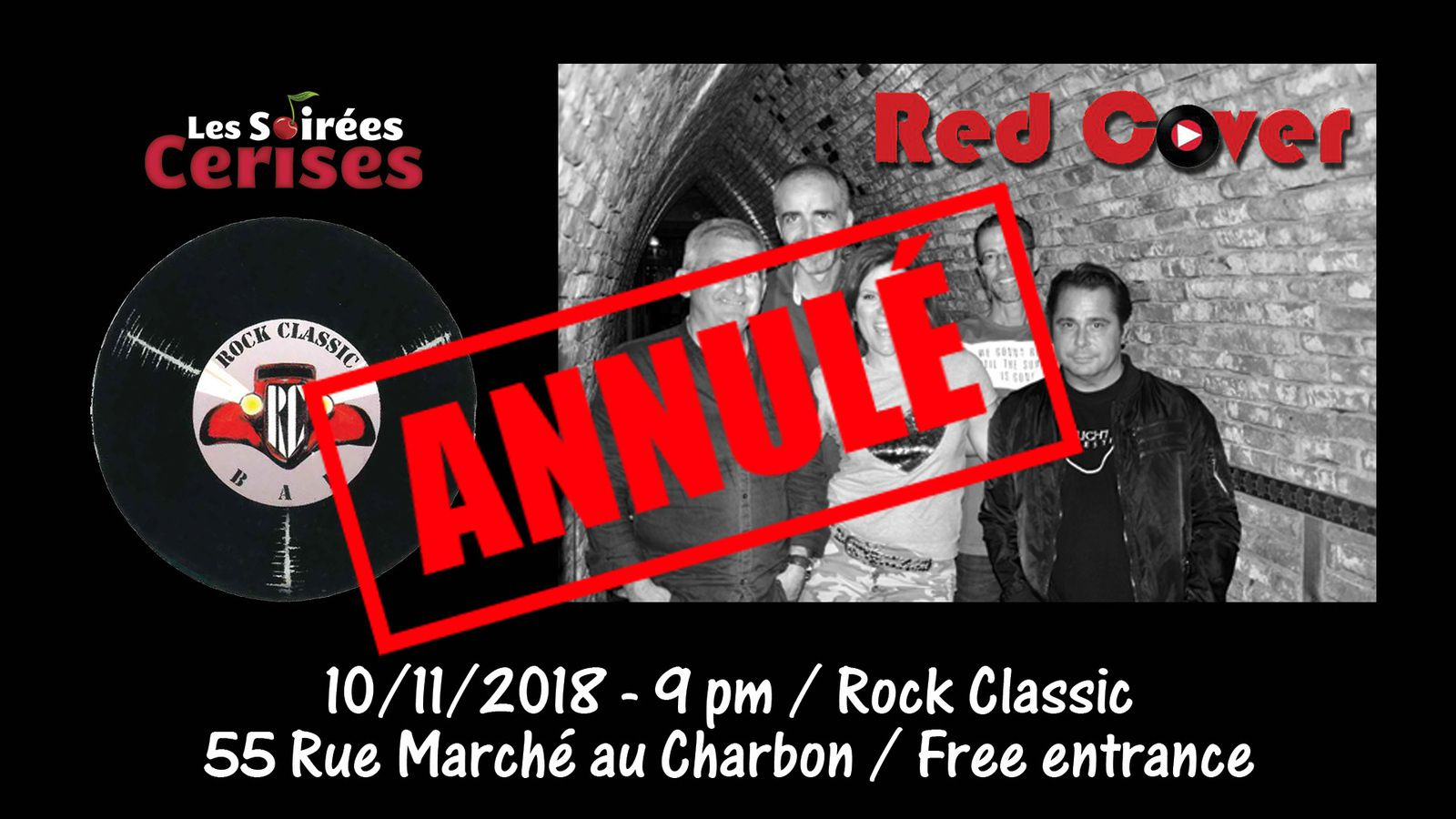 ▶ Red Cover @ Rock Classic - 10/11/2018 - annulé !