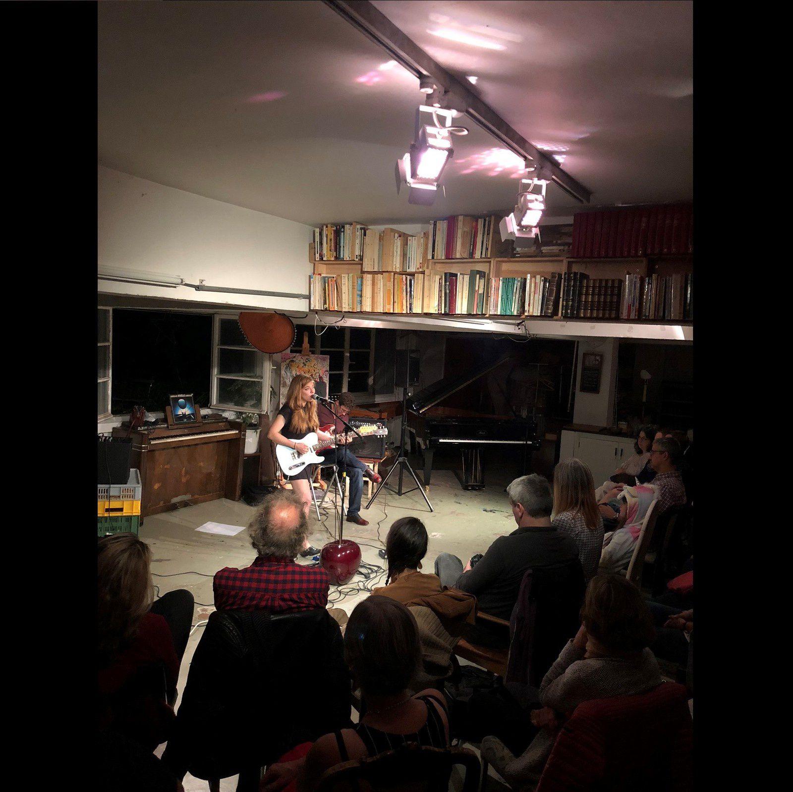 ▶ Photos/Videos - Concert en appartement avec Cari Q (USA) @ Chez Kaufmann - 06/10/2018