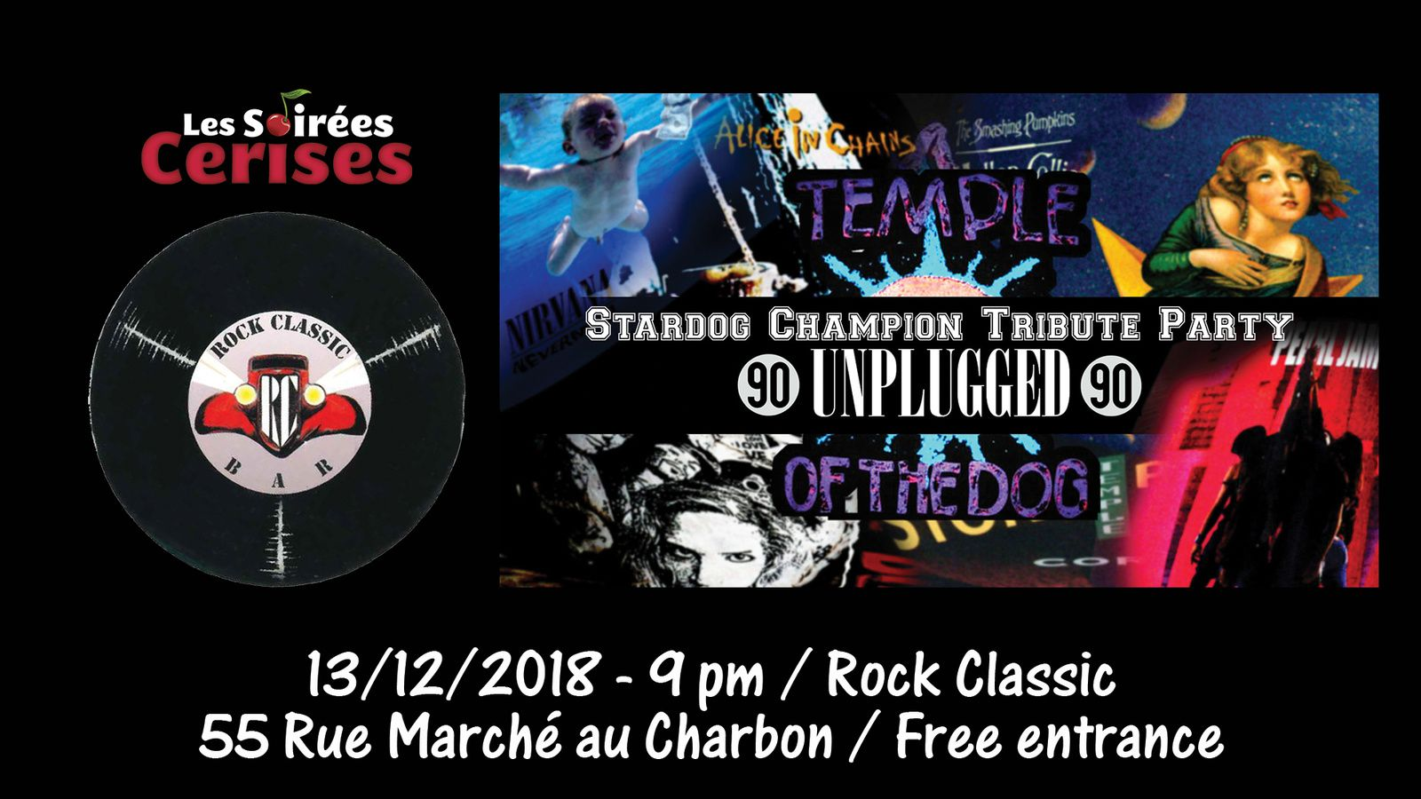 ▶ Stardog Champion tribute party au Rock Classic - 13/12/2018