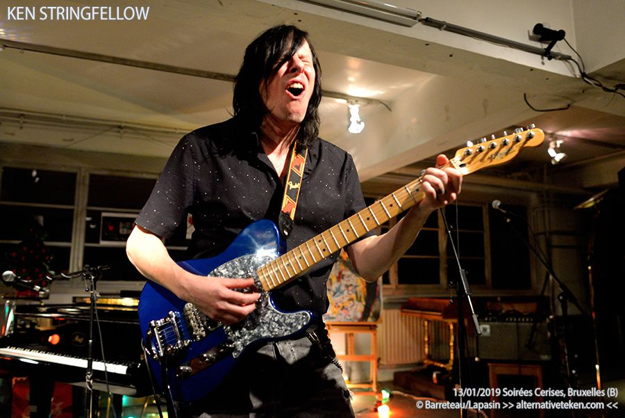 ▶ Photo / Video - Ken Stringfellow (R.E.M., Big Star, The Posies ) @ Ixelles / Cimetière - 13/01/2019