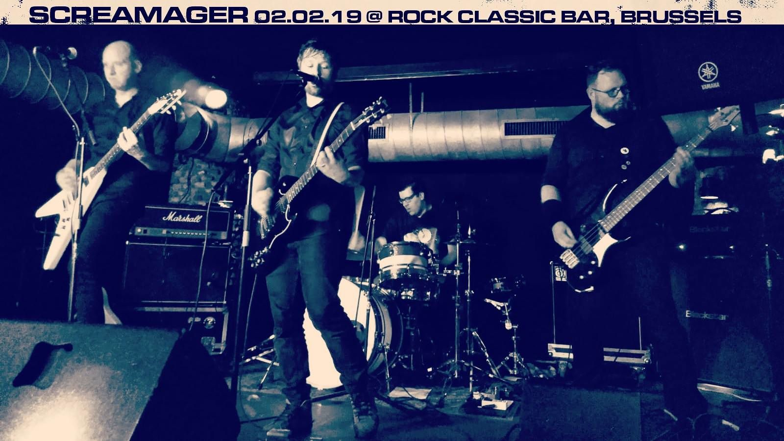 ▶ Photo / Videos - Screamager (Therapy? tribute band) @ Rock Classic - 02/02/2019