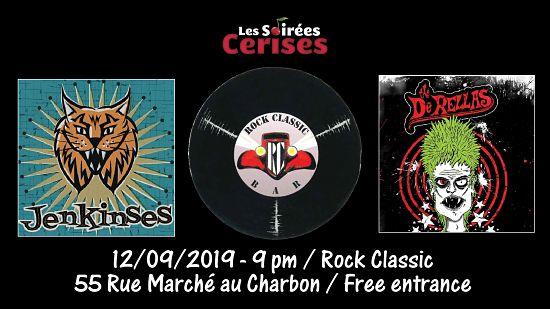 ▶ The DeRellas (UK) + The Jenkinses @ Rock Classic - 12/09/2019 - 21h00 - Entrée gratuite / Free entrance