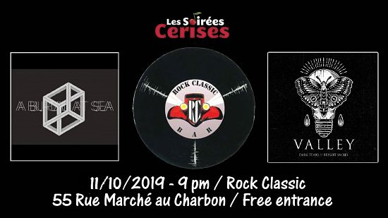 ▶ A Burial at sea (UK) + Valley @ Rock Classic - 11/10/2019 - 21h00 - Entrée gratuite !