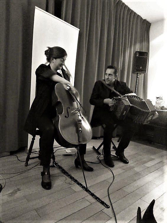▶ Photos - Belem (Didier Laloy & Kathy Adam) @ Soirées Cerises home concert (Uccle) - 01/12/2019
