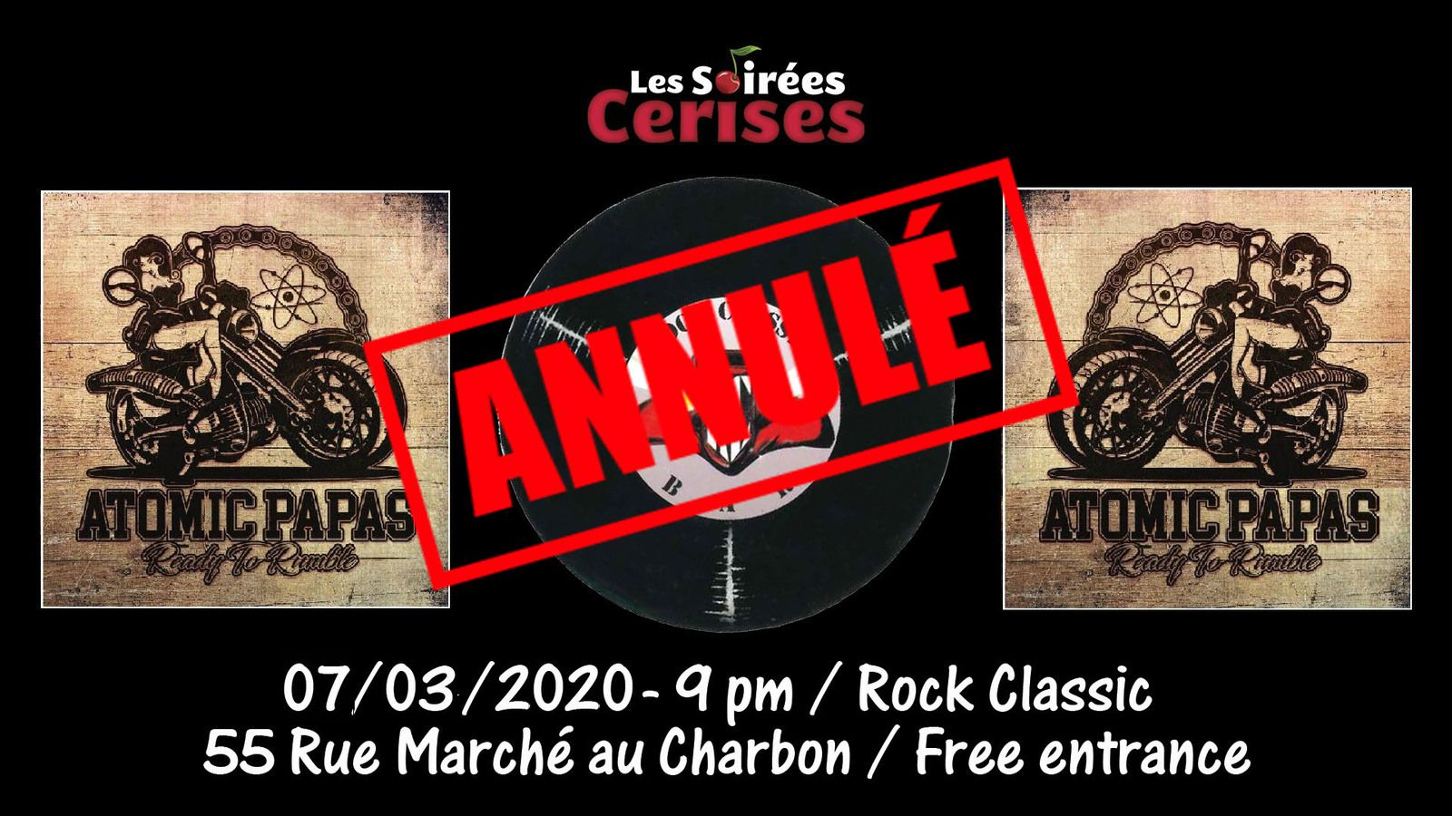 🎵 Atomic Papas (It) @ Rock Classic - 07/03/2020 - annulé