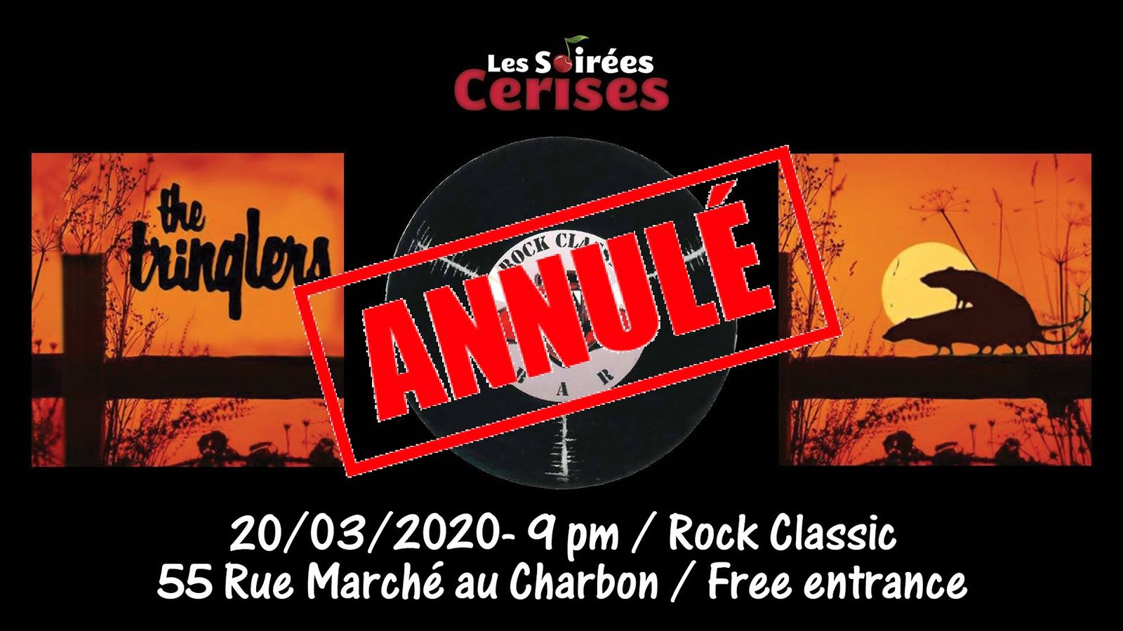 🎵 The Tringlers @ Rock Classic- 20/03/2020 - annulé