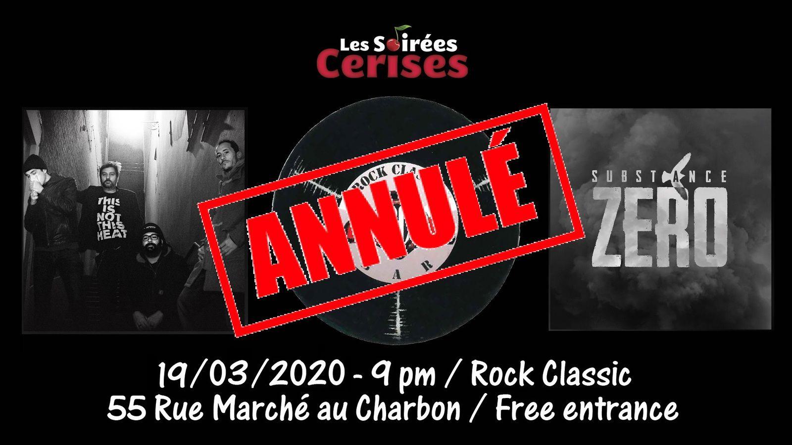 🎵 Substance zero @ Rock Classic- 19/03/2020 - annulé